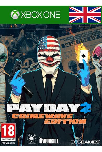 Payday 2 - Crimewave Edition (UK) (Xbox One)