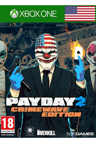 Payday 2 - Crimewave Edition (USA) (Xbox One)
