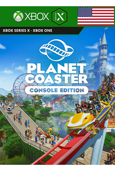 Planet Coaster - Console Edition (USA) (Xbox One / Series X|S)