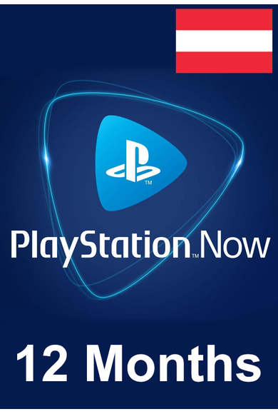 PSN - PlayStation NOW - 12 months (Austria) Subscription