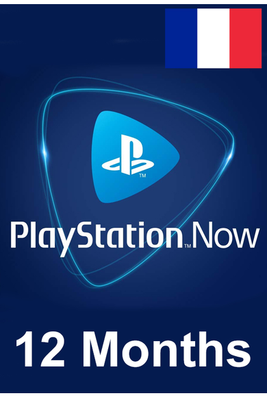 PSN - PlayStation NOW - 12 months (France) Subscription