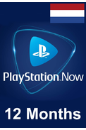 PSN - PlayStation NOW - 12 months (Netherlands) Subscription