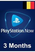PSN - PlayStation NOW - 3 months (Belgium) Subscription