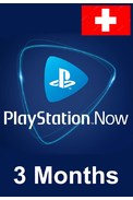 PSN - PlayStation NOW - 3 months (Switzerland) Subscription