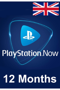 PSN - PlayStation NOW - 12 months (UK - United Kingdom) Subscription