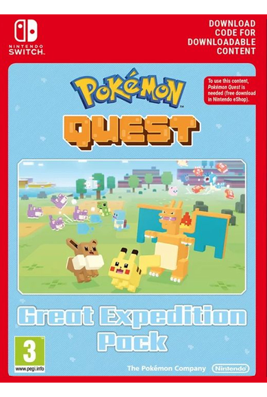 Pokemon Quest - Great Expedition (DLC) (Switch)