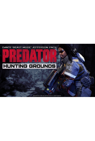 "Predator: Hunting Grounds - Dante ""Beast Mode"" Jefferson DLC Pack"