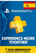 PSN - PlayStation Plus - 365 days (Spain) Subscription