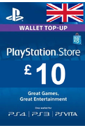 PSN - PlayStation Network - Gift Card £10 (GBP) (UK)