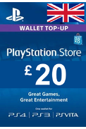 PSN - PlayStation Network - Gift Card £20 (GBP) (UK)