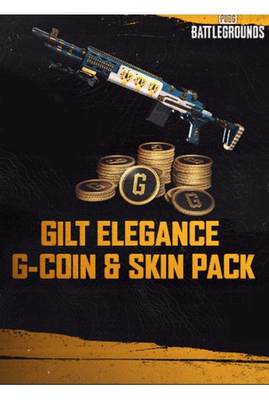 PUBG Gilt Elegance-1,050 G-Coin Skin Pack (DLC)