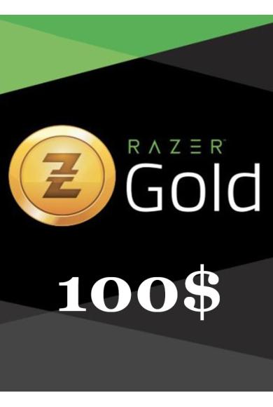 Razer Gold Gift Card 100$ (USD)