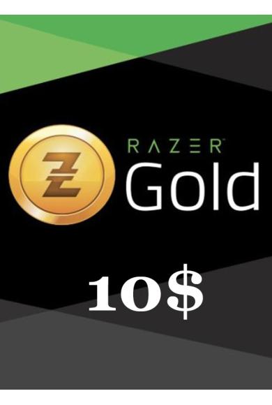 Razer Gold Gift Card 10$ (USD)