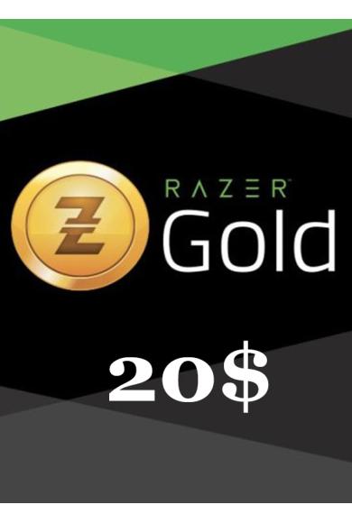Razer Gold Gift Card 20$ (USD)