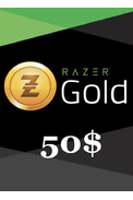 Razer Gold Gift Card 50$ (USD)