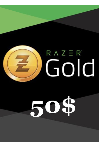 Razer Gold Gift Card 50$ (USD)