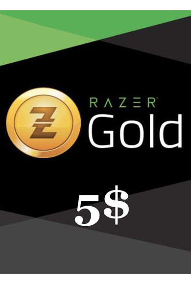 Razer Gold Gift Card 5$ (USD)