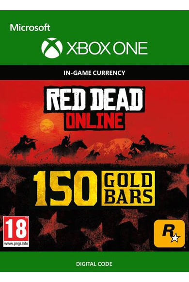 RED DEAD REDEMPTION 2 Online 150 Gold Bars (Xbox One)