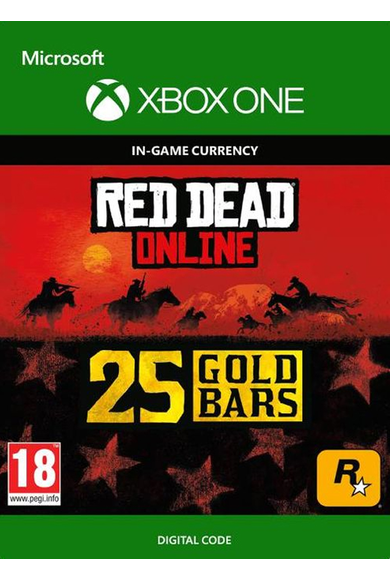 RED DEAD REDEMPTION 2 Online 25 Gold Bars (Xbox One)