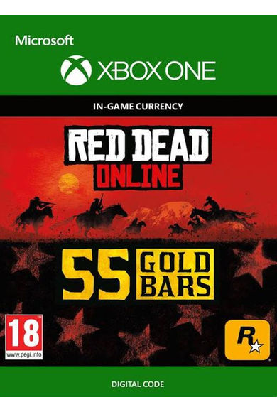 RED DEAD REDEMPTION 2 Online 55 Gold Bars (Xbox One)