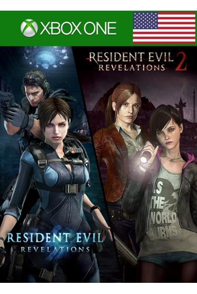 Resident Evil: Revelations 1 + 2 - Bundle (USA) (Xbox One)