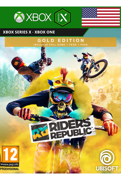 Riders Republic - Gold Edition (USA) (Xbox Series X)