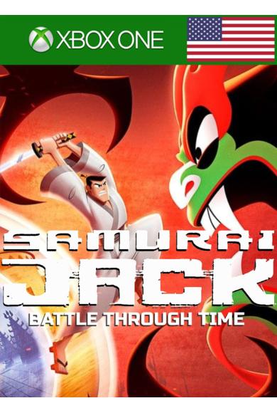 Samurai Jack: Battle Through Time (USA) (Xbox One)