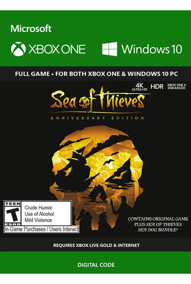 Sea of Thieves: Anniversary Edition (PC/Xbox One) (Xbox Play Anywhere)