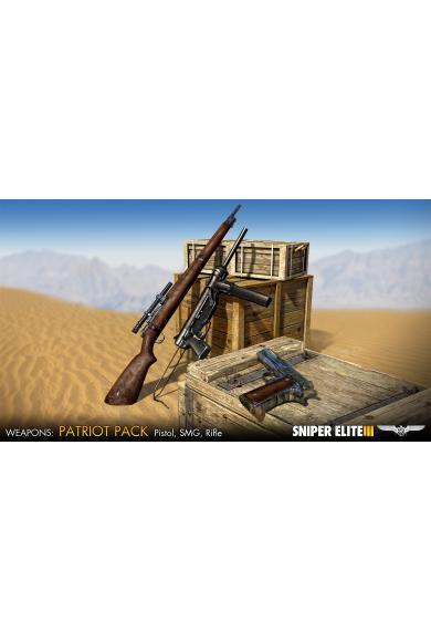 Sniper Elite 3 - Patriot Weapons Pack (DLC)