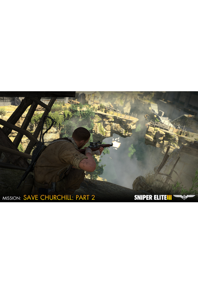 Sniper Elite 3 - Save Churchill Part 2: Belly of the Beast (DLC)