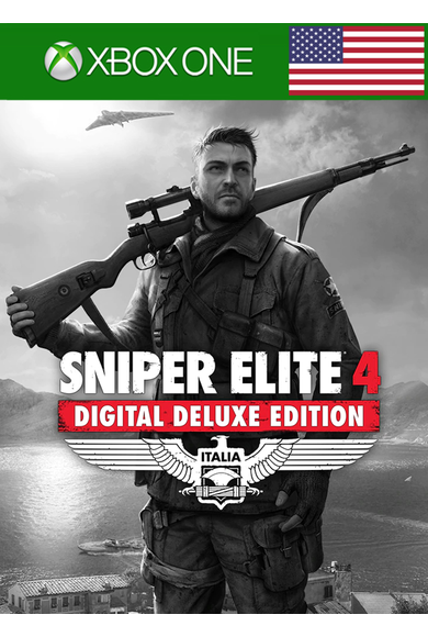 Sniper Elite 4 - Deluxe Edition (USA) (Xbox One)