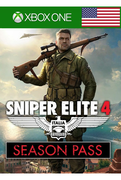 Sniper Elite 4 - Season Pass (DLC) (USA) (Xbox One)