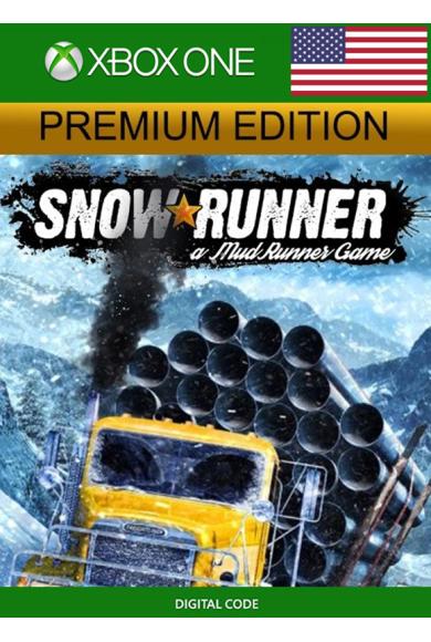 SnowRunner - Premium Edition (USA) (Xbox One)