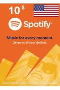 Spotify Gift Card 10$ (USD) (USA)