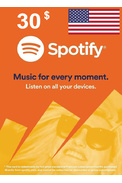 Spotify Gift Card 30$ (USD) (USA)