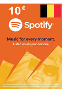 Spotify Gift Card 10€ (EUR) (BE)