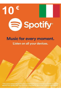 Spotify Gift Card 10€ (EUR) (Italy)