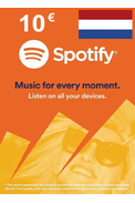 Spotify Gift Card 10€ (EUR) (NL)