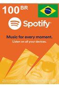 Spotify Gift Card 100 (BR) (Brazil)