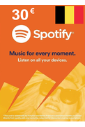 Spotify Gift Card 30€ (EUR) (BE)