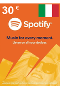 Spotify Gift Card 30€ (EUR) (Italy)