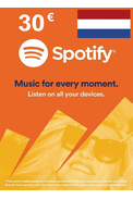Spotify Gift Card 30€ (EUR) (NL)