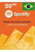 Spotify Gift Card 50 (BR) (Brazil)