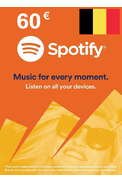 Spotify Gift Card 60€ (EUR) (BE)