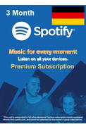 Spotify Premium Subscription 3 Month (DE)
