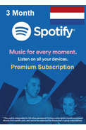 Spotify Premium Subscription 3 Month (NL)