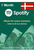 Spotify Subscription 1 Month (Denmark)