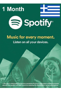 Spotify Subscription 1 Month (Greece)