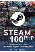 Steam Wallet - Gift Card 100 (PHP) (Philippines)