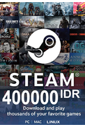 Steam Wallet - Gift Card 400000 (IDR) (Indonesia)